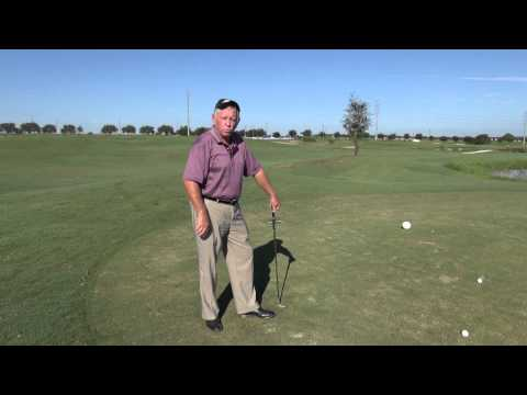 Golf Lesson - Psychology 101 - Hitting Over The Pond - Golf Tips - How to hit over water