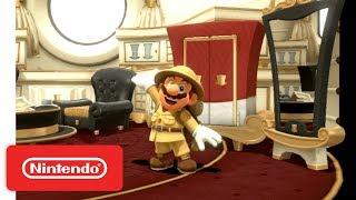 Super Mario Odyssey - Wooded Kingdom Demonstration - Nintendo E3 2017