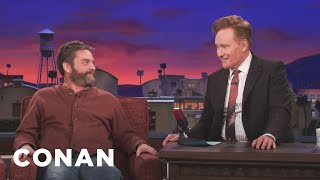Zach Galifianakis Thinks His Redhead Son Will Grow Up Ugly  - CONAN on TBS