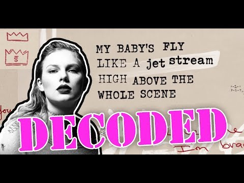 Taylor Swift - Call It What You Want (Lyric Video) DECODED