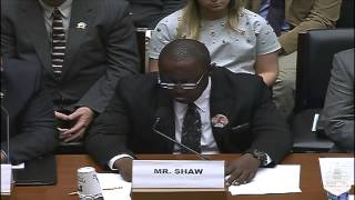 Testimony of Mr. Jamiel Shaw at Oversight Hearing