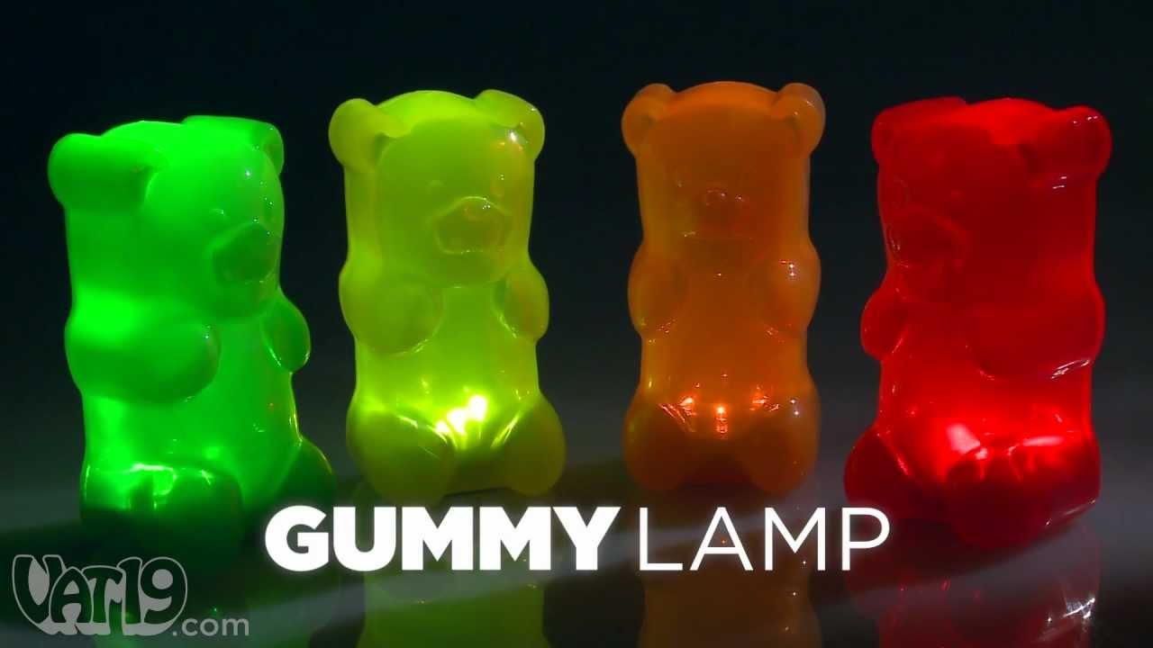 Gummylamp Gummy Bear Nightlight Youtube