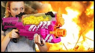 Nerf WAR: BOY vs GIRL 3