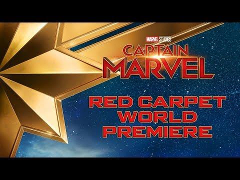 Marvel Studios' Captain Marvel | LIVE Red Carpet World Premiere