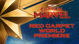 Marvel Studios' Captain Marvel | LIVE Red Carpet World Premiere