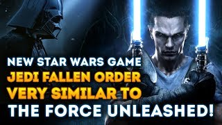New Star Wars Game Jedi Fallen Order Similar to The Force Unleashed According to Sources!