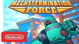 Mechstermination Force - Announcement Trailer - Nintendo Switch