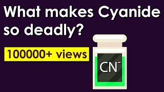What makes cyanide so deadly