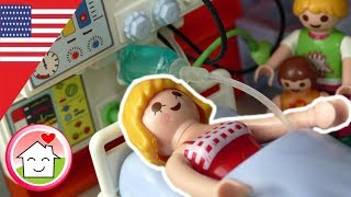 Playmobil english Mommy's in Hospital - The Hauser Family