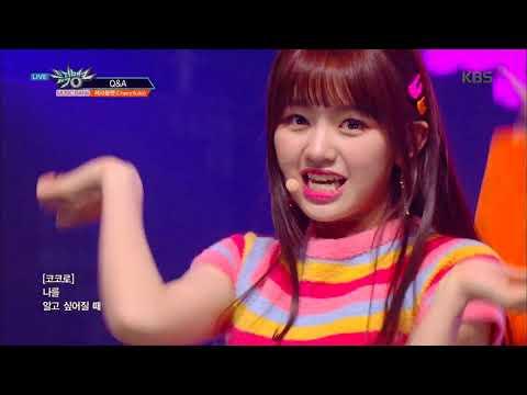 뮤직뱅크 Music Bank - Q&A - 체리블렛 (Cherry Bullet) .20190201