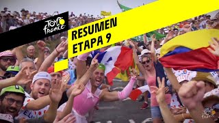 Resumen - Etapa 9 - Tour de France 2019
