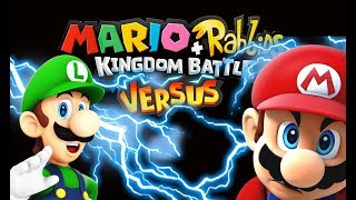 Mario Rabbids + Kingdom Battle Versus Mode! LUIGI Vs MARIO