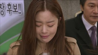 [Rosy lovers] 장미빛 연인들 40회 -Han Sunhwa, happen to meet her daughter 20150301