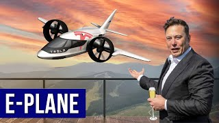 Elon Musk Revealed Tesla Electric Airplane