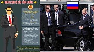Những Bí ẩn đằng sau chưa biết về Cận vệ của Tổng thống Putin