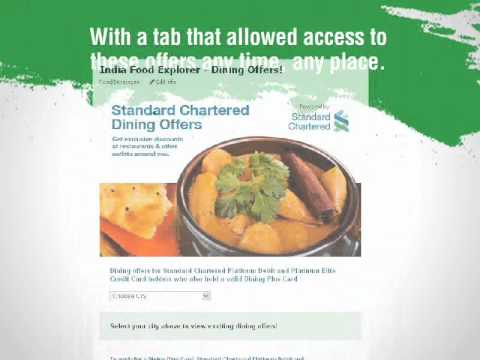 Standard Chartered Bank - India Food Explorer