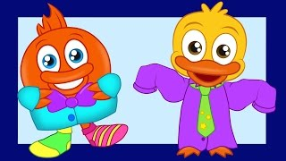Put on your clothes clothing song for kids I Happy Kids Learning