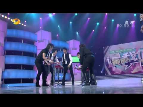 091017【全場中文】湖南衛視 快樂大本營 - 來賓 Super Junior M