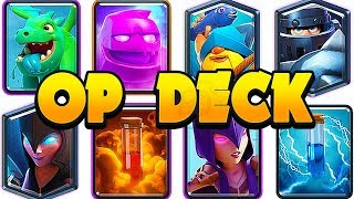 Trophy Pushing with the BEST DECK in Clash Royale before the nerf!!