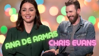 CHRIS EVANS On Quitting Acting and Ana De Armas / THE new Bond GIRL (2019)
