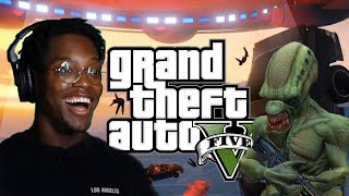 We Try To Survive An Alien Invasion In Grand Theft Auto 5
