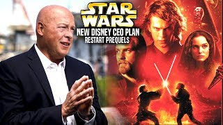 New Disney CEO Plan To Restart The Prequel Trilogy! (Star Wars Explained)
