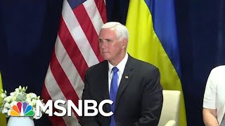 House Intel Wants Mike Pence To Declassify Extra Impeachment Testimony   Rachel Maddow   MSNBC