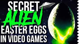 Secret Alien Easter Eggs In Video Games!