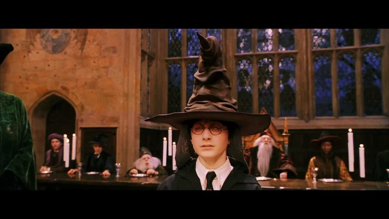 Hillary Clinton would be in Ravenclaw and Donald trump in ... |Sorting Hat Scene