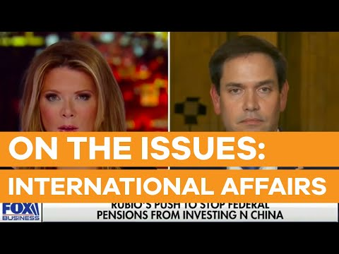Rubio Discusses China, Venezuela with Trish Regan on Fox Business