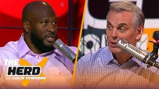 Steelers need to get back to running the ball & L-Bell trade rumor — James Harrison | NFL | THE HERD