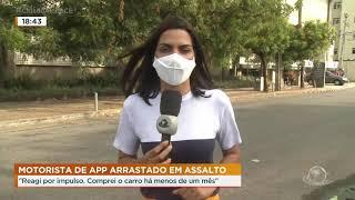 Motorista de aplicativo luta contra bandido durante assalto | Cidade Alerta CE