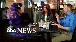 Parents disapprove of their drag queen son's look while out to eat | What Would You Do? | WWYD