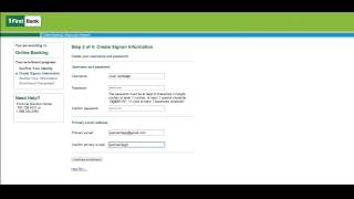 FirstBank - Online Banking Tutorial