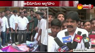 Nandamuri fans Vs MLA Anitha over Aravinda Sametha tickets..