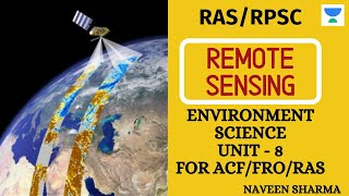 Remote Sensing | Environment Science For ACF/FRO | RPSC/RAS 2020/2021