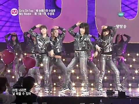 (Special Stage) SNSD - Girls on Top & My Name