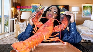 Huge Larry the Lobster Mukbang