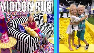Alyssa's Dream Room & Michael Meets Everleigh - Vidcon Fun 2018 - YouTube