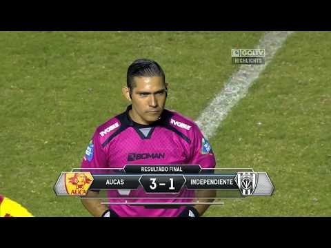Aucas vs CSD Independiente Del Valle
