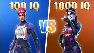 100 IQ WINNER vs 1000 IQ WINNER - Fortnite Battle Royale