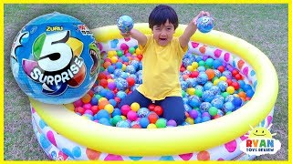 Toy Hunt Outdoor for 5 Surprise with Ryan ToysReview