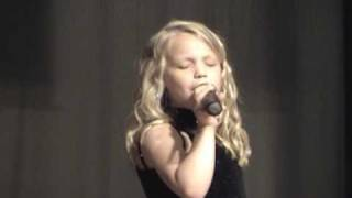 Talented Country Child Singing-I Told You So-Carrie Underwood/Randy Travis (Cover)2009