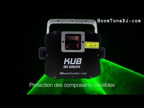 Vidéo BoomToneDJ - KUB 80 Green