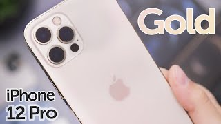 Gold iPhone 12 Pro Unboxing & First Impressions!