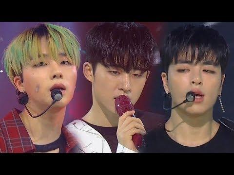 《POWERFUL》 iKON(아이콘) - KILLING ME(죽겠다) @인기가요 Inkigayo 20180812