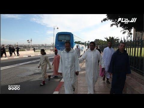 إقامة صلاة الإستسقاء بمسجد حسان بالرباط