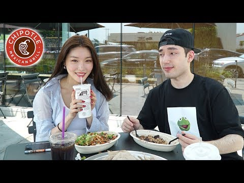 My First Date With a Kpop Star! (I Took Chung Ha to Chipotle lol)
