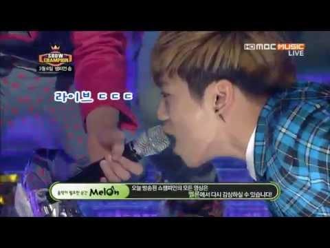 공약 실천은 샤이니 종현처럼 (Jonghyn is singing with pushups)