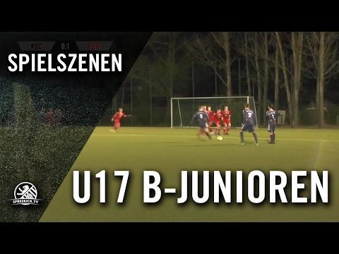 Köpenicker SC - 1. FC Union Berlin (U17 B-Junioren, Viertelfinale, Pokal der B-Junioren 2016/2017) - Spielszenen | SPREEKICK.TV